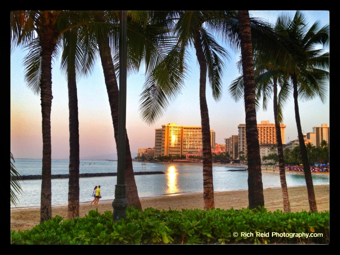 #1 Easter Sunday sunrise service on Waikiki Beach in Honolulu, Hawaii.